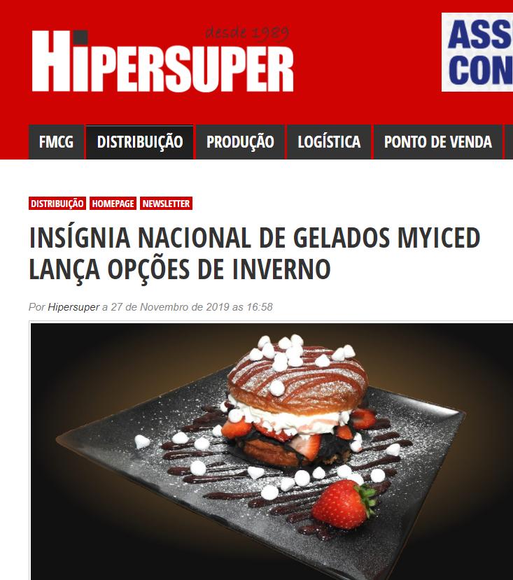 Hipersuper|INSÍGNIA NACIONAL DE GELADOS MYICED LANÇA OPÇÕES DE INVERNO – Focaccina