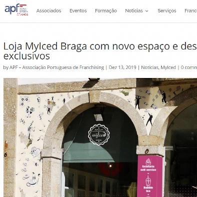 Associação Portuguesa de Franchising - Loja MyIced Braga com novo espaço e descontos exclusivos