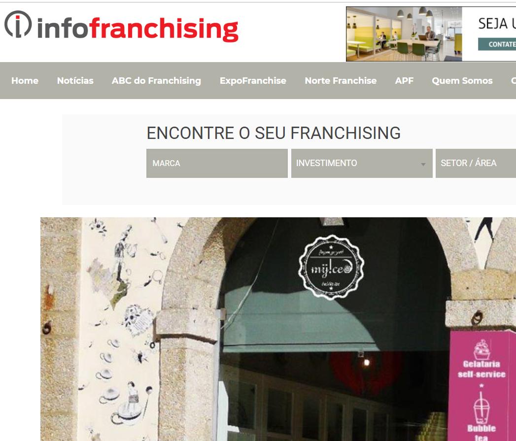 InfoFranchising|Loja MyIced Braga inaugura novo espaço