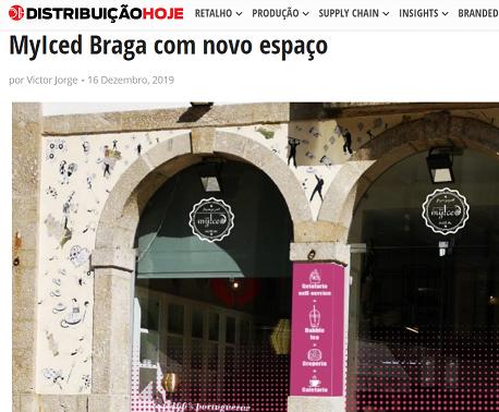Distribuição Hoje|MyIced Braga com novo espaço