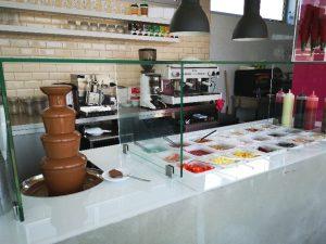 Franchising MyIced - Loja de rua fonte de chocolate
