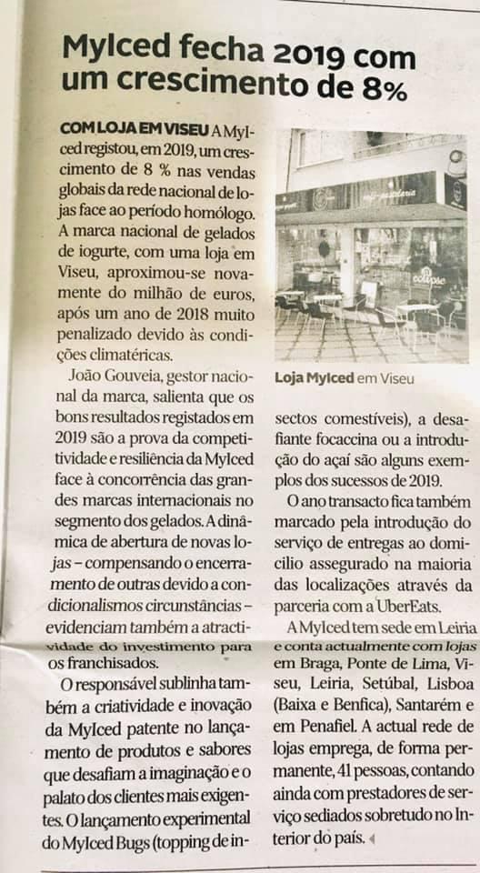 Diário de Viseu - MyIced fecha 2019 com crescimento de 8%
