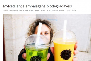 Associação Portuguesa de Franchising - MyIced lança embalagens biodegradáveis