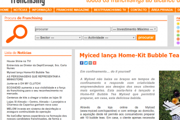 BestFranchising - Myiced lança Home-Kit Bubble Tea