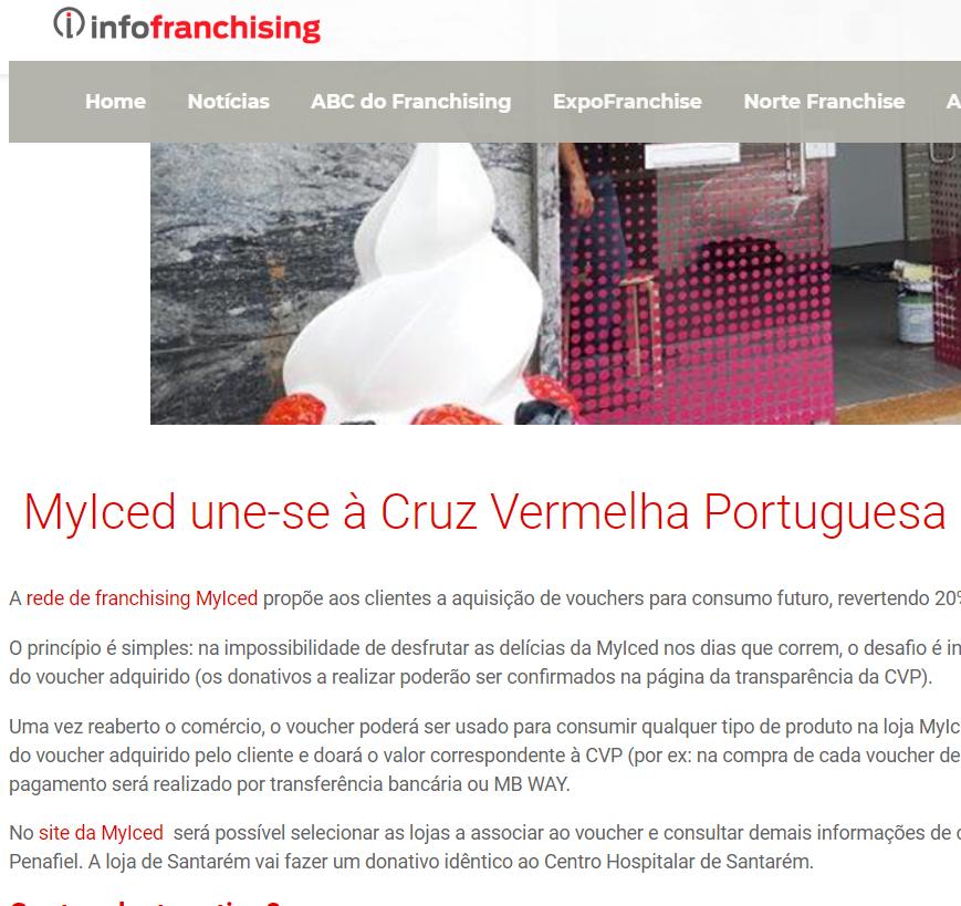 MyIced une-se à Cruz Vermelha Portuguesa