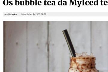 Jornal do Centro - Os bubble tea da MyIced têm novidades fresquinhas