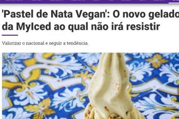 Lifestyle ao Minuto - Pastel de Nata Vegan - O novo gelado da MyIced ao qual não irá resistir