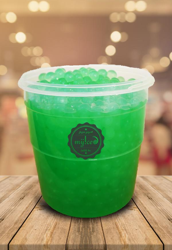 Shop Myiced - Popping bobas 1kg (maçã verde)