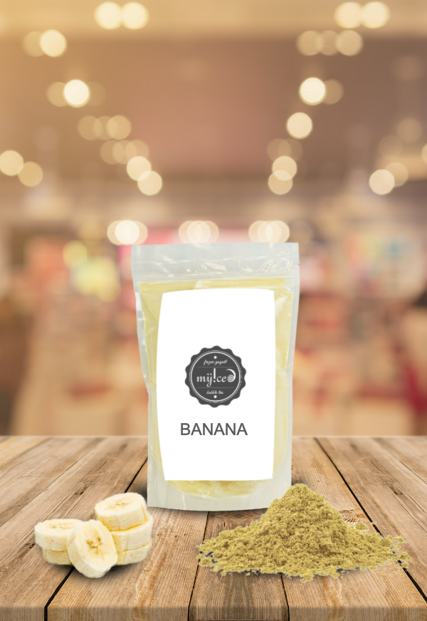 Shop Myiced - Preparado banana bubble tea portugal