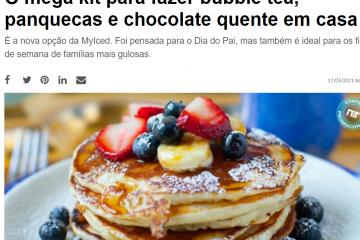 NiT - O mega kit MyIced para fazer bubble tea, panquecas e chocolate quente em casa