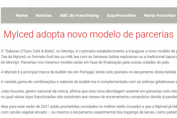 InfoFranchising - MyIced adopta novo modelo de parcerias