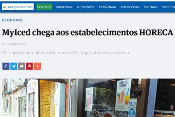 Jornal de Leiria - MyIced chega aos estabelecimentos HORECA